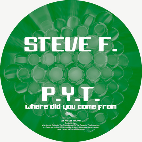 """STEVE F. – """"P.Y.T. (Where Did You Come From) """""""
