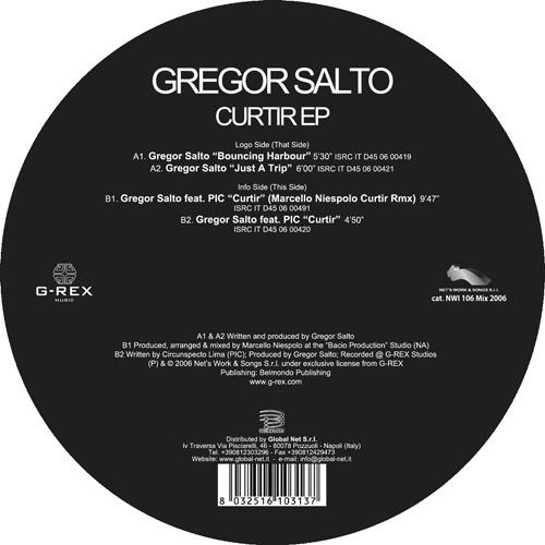 "GREGOR SALTO ""Curtir EP"""