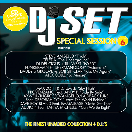 DJ SET SPECIAL SESSION Vol.6