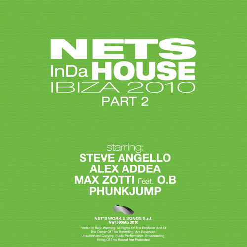 """AA/VV """"NETS IN DA HOUSE IBIZA 2010 (Part 2)"""""""