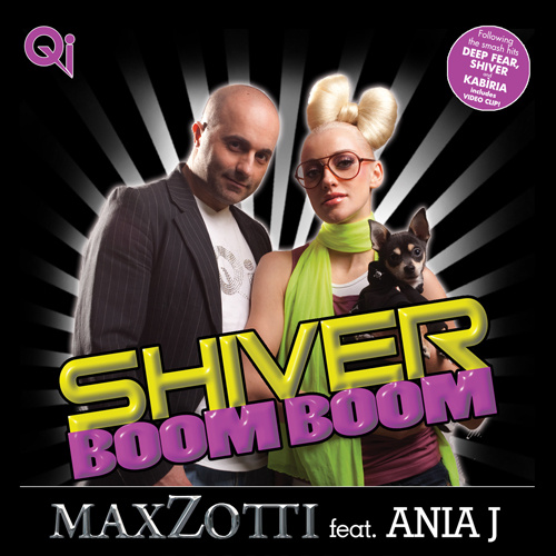 """MAX ZOTTI Feat. ANIA J """"Shiver Boom Boom"""""""