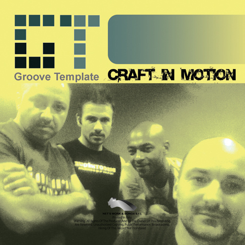"""GROOVE TEMPLATE """"Craft In Motion"""""""