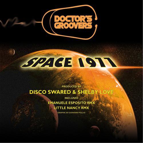 """DOCTOR'S GROOVERS """"Space 1977"""""""