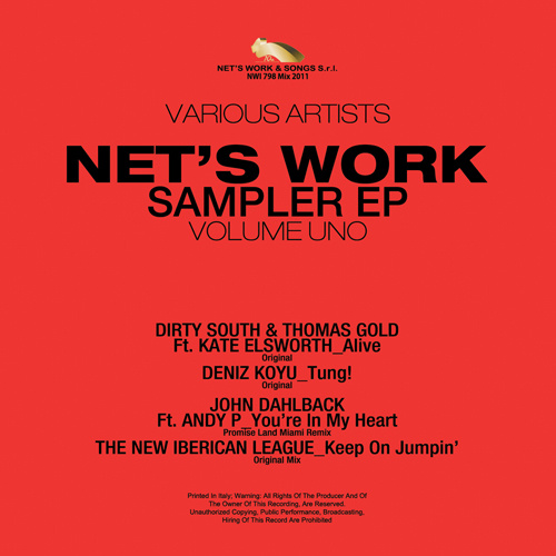 "AA/VV ""Net's Work Sampler Ep Vol.1"""