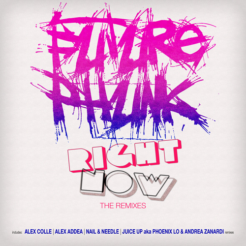 "FUTURE PHUNK ""Right Now (The Remixes)"""