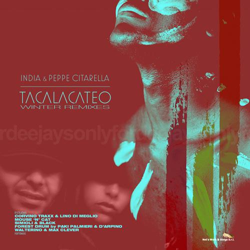 """INDIA & PEPPE CITARELLA """"Tacalacateo"""" (Winter Remixes)"""