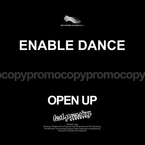 "ENABLE DANCE ""Open Up"""