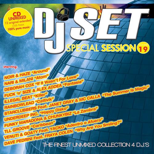 DJ SET SPECIAL SESSION Vol.19