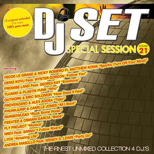 DJ SET SPECIAL SESSION Vol.21