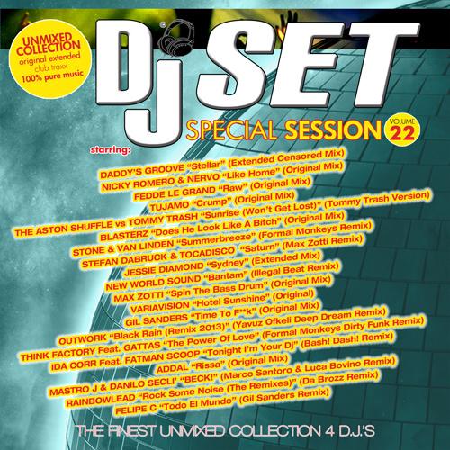 DJ SET SPECIAL SESSION Vol.22