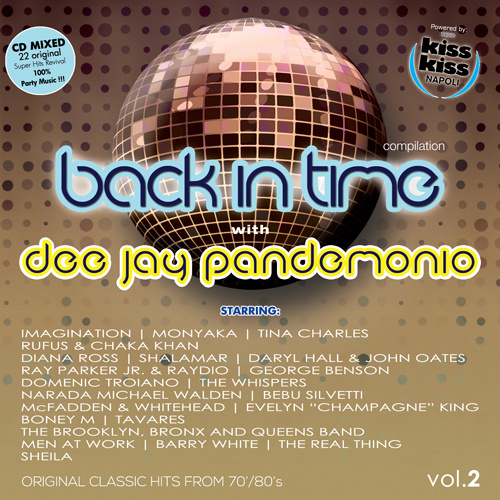 VARIOUS ARTISTS BACK IN TIME with DJ PANDEMONIO Vol.2
