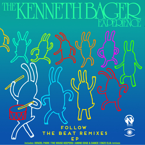 """THE KENNETH BAGER EXPERIENCE """"Follow The Beat"""" [THE REMIXES]"""