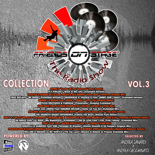 VARIOUS ARTISTS FRIENDS ON STAGE Collection Vol.3